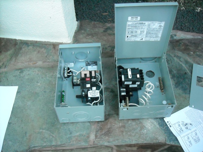 Jacuzzi 50 Amp GFI Disconnect Switches Aliso Viejo