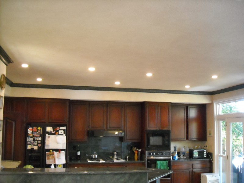 LED Recessed Can Light Conversion in Kitchen Laguna Niguel