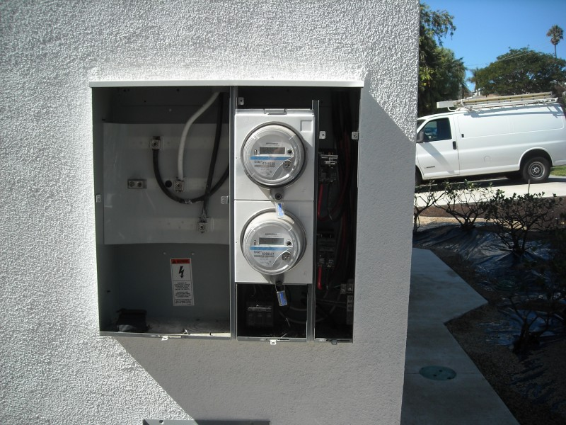 Remodel Interior Units in Triplex New Electrical In Dana Point