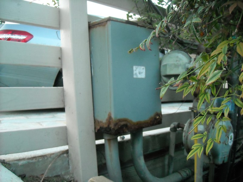 Replace Rusted Out Pull Box For 200 Amp Main Service for Underground Utilities in Laguna Beach