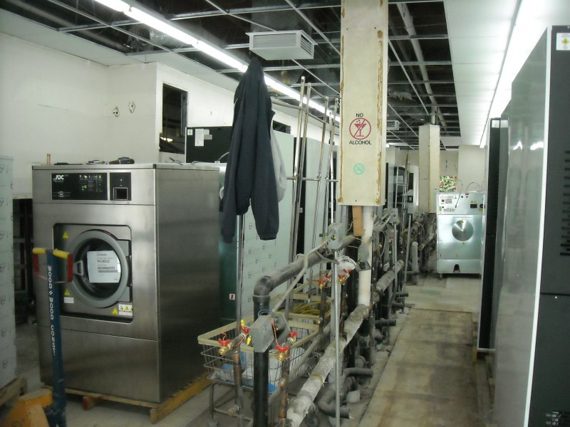 Washers And Dryers Ready to Be Hooked Up and Set In Place Laundrymat Orange CA